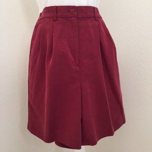 Vintage IZOD High Waist Pleated Front Golf Shorts
